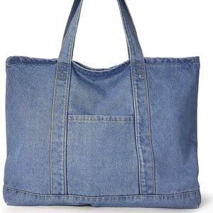 Handbags - Soft Light Denim Tote